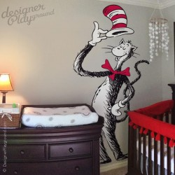 Giant Cat In The Hat Holding Hat Dr Seuss Character
