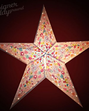 Paper Star Happy Confetti