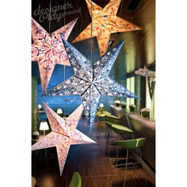 Paper Star Full Color Creative Print 4pc Set