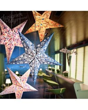 Paper Star Full Color Creative Print 4pc Set