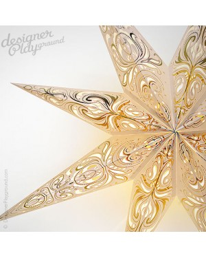 Paper Star Magical Night White