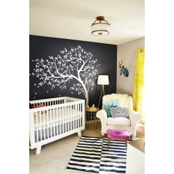Natural Nursery Tree With Birds
