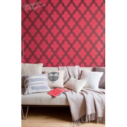 Burlap Elegant Pattern Wall Panel