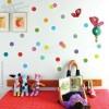 Colorful Polka Dots Wall Decal