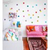 Colourful Polka Dots Wall Decal