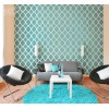 Moroccan Flower Pattern Wall Decal