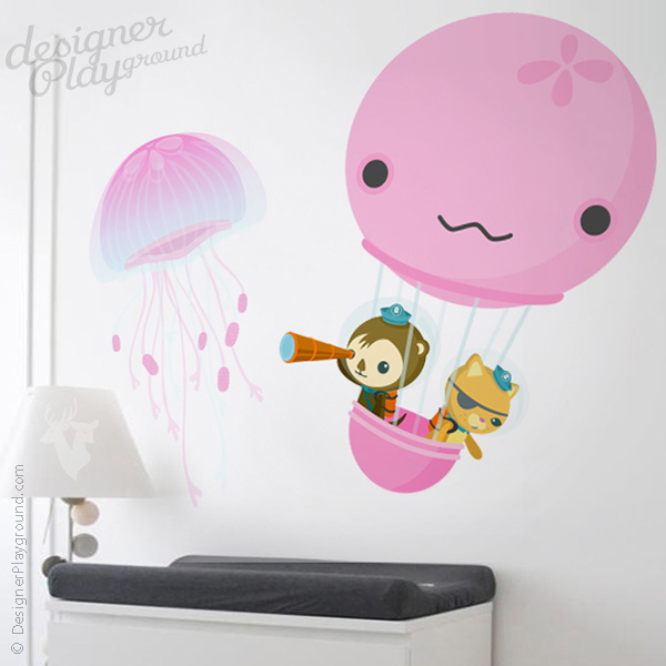 Jellyfish Hot Air Balloon The Octonauts Character