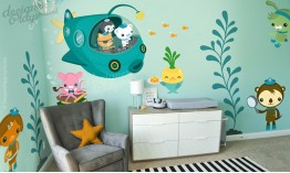The Arrival of Octonauts Wall Decal