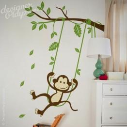 Monkey on Swing