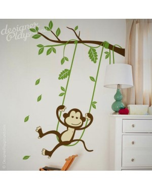 Monkey on Swing