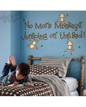 No More Monkeys Jumping on The Bed