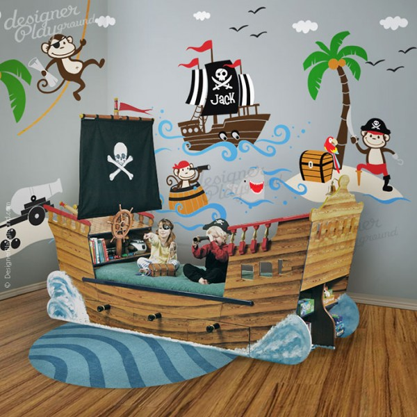 Captain Jack and the Treasure Island Pirates Decal