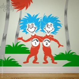 Thing 1 Thing 2 Dr Seuss