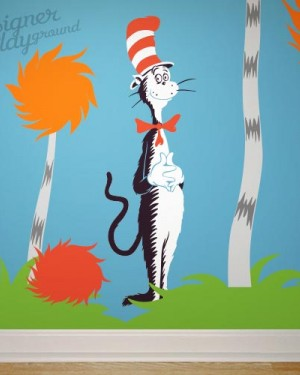 Cat in The Hat Dr Seuss Character