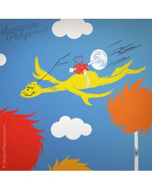 Flying guy Dr Seuss