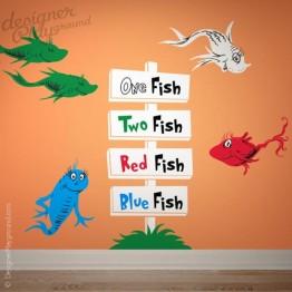 1 fish 2 fish signboard