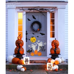 Ghost Trick or Treat Halloween Decoration