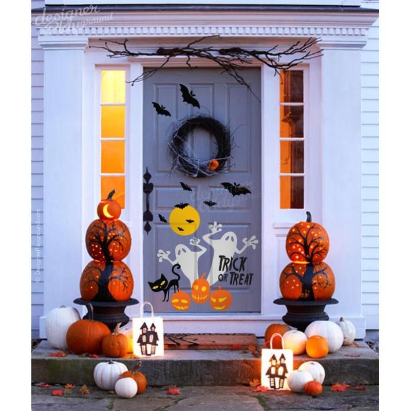 Halloween Home Decor Catalogs: Ghost Trick Or Treat Halloween Decoration