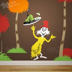 Barbaloot Bear Eating Fruits Dr Seuss Character