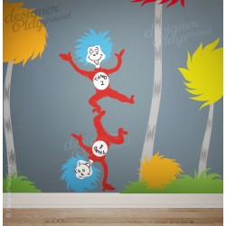 Dr Seuss Wall Decals Collection