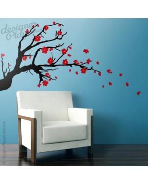 Oriental Cherry Blossom Branch