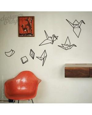 Evolving Origami Cranes