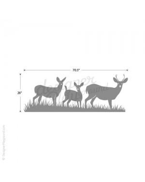 Deers in The Wild