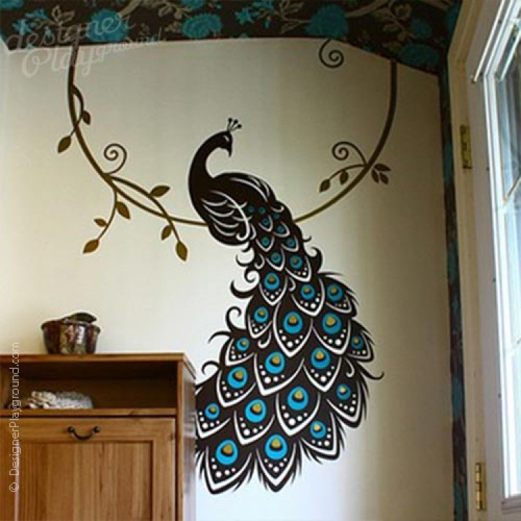 peacock the bird of paradise. Black Bedroom Furniture Sets. Home Design Ideas