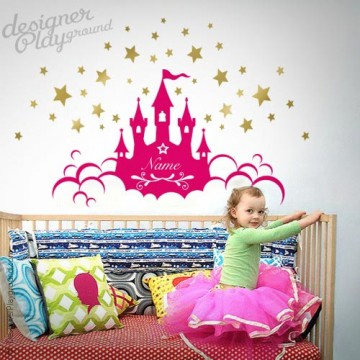 Princess Castle with Name