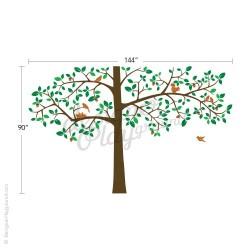 Giant Tree with Birds