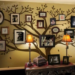 Extra Large Family Photo Tree