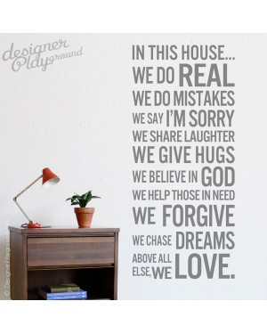 House Rules - In this house...