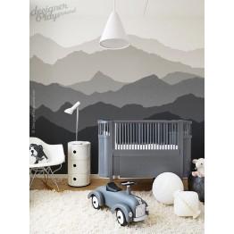 Mountain Scenery Wallpaper - Peel & Stick