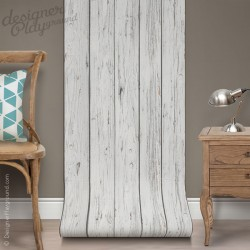 Grey Wood Wallpaper Peel & Stick