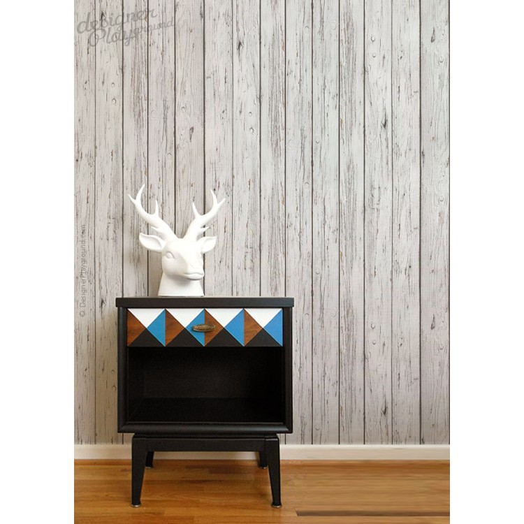 Grey Wood Wallpaper Peel U0026 Stick