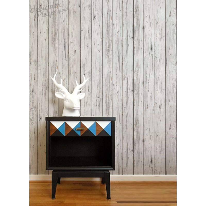 Grey Wood Wallpaper Peel Amp Stick