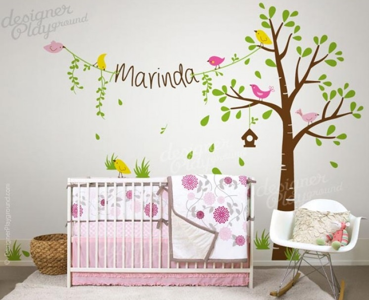 Get Inspired To Decorate Your Childrens Bedroom And Nursery - Wall decals you can write on